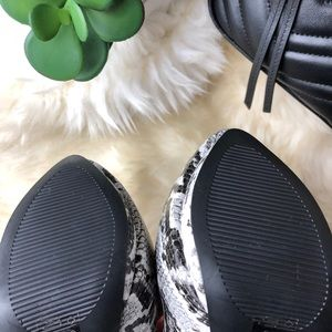 Michael Antonio Shoes - Snake Print Pumps - NWOT